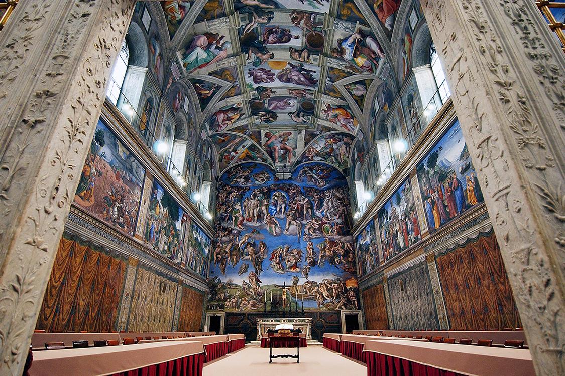 Cappella Sistina in Vaticano